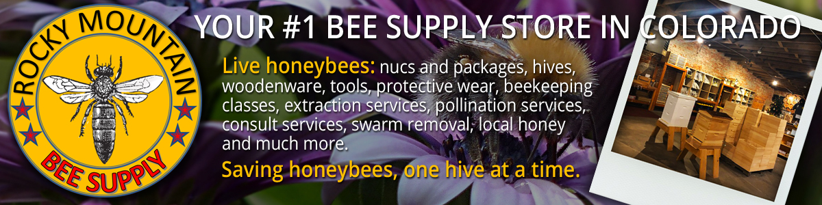 Your #1 bee supply store in Colorado